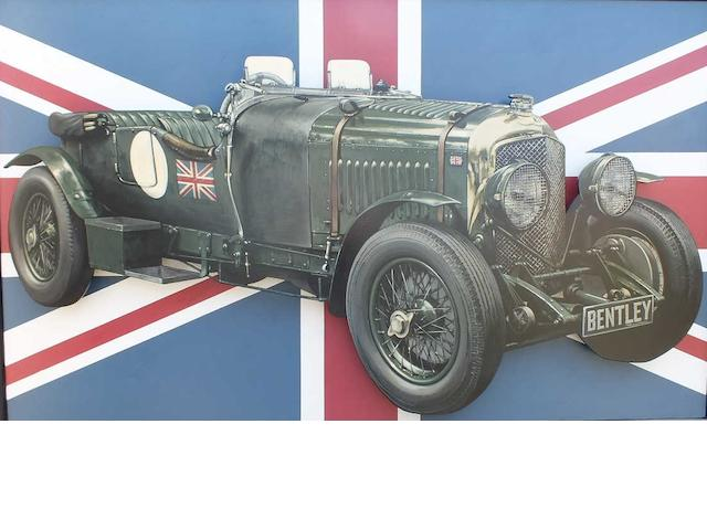 Tony Upson, '4½ Litre Bentley',
