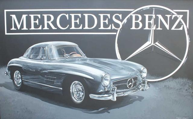 Tony Upson, 'Mercedes-Benz 300SL',