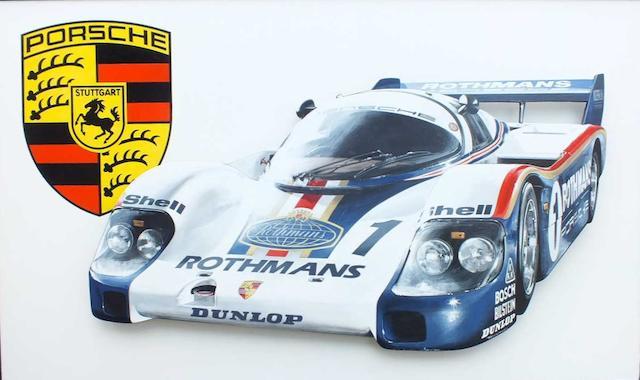 Tony Upson, 'Rothmans Le Mans Porsche',