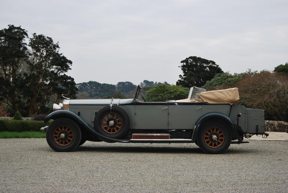 1927 Isotta Fraschini Tipo 8AS Tourer  Chassis no. 1390 Engine no. 1413