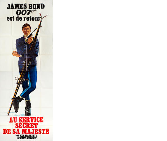 On Her Majesty's Secret Service / Au Service Secret De Sa Majeste Eon / United Artists, 1969,