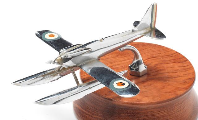 A Schneider Trophy Seaplane mascot, British, 1930s,