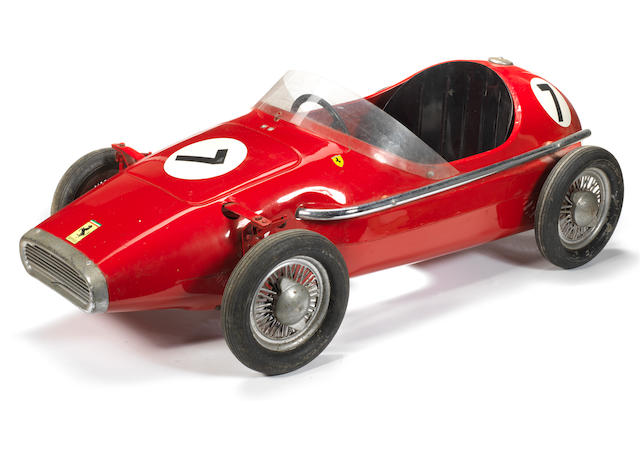 A 'Ferrari Grand Prix' child's pedal car, by Tri-ang,