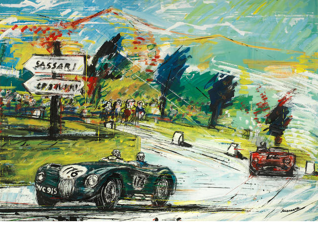 Francesco Scianna, 'Jaguar C-Type 1955',