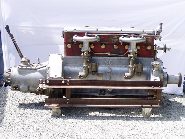 An Isotta Faschini Engine, Engine no. 1113