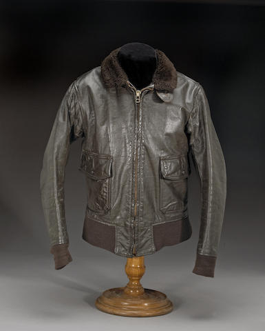 Steve McQueen's leather aviator's jacket,