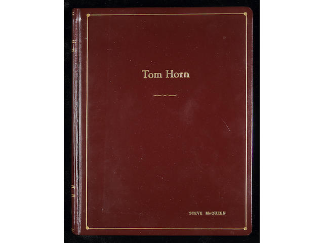 "Steve McQueen's presentation script from ""Tom Horn"","