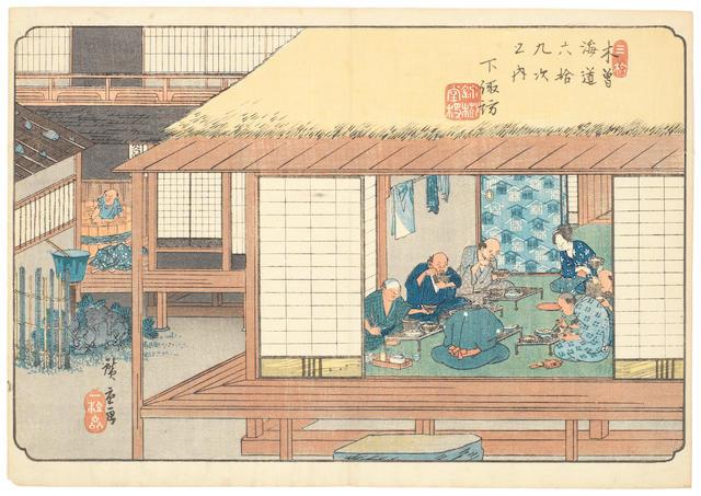 Ando Hiroshige (1797-1858) Circa 1834-1842