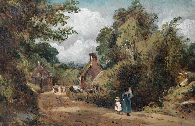Frederick Waters Watts (St. Albans 1800-1862 London) Bishops Stoke, Hampshire