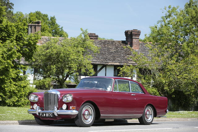 1965 Bentley S3 Continental Sports Saloon  Chassis no. BC66XE Engine no. 33EBC