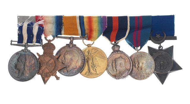 Seven to Rear-Admiral D.R.L.Nicholson, Royal Navy,