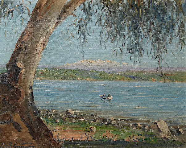 Ludwig Blum (Israeli, 1891-1975) Sea of Galilee