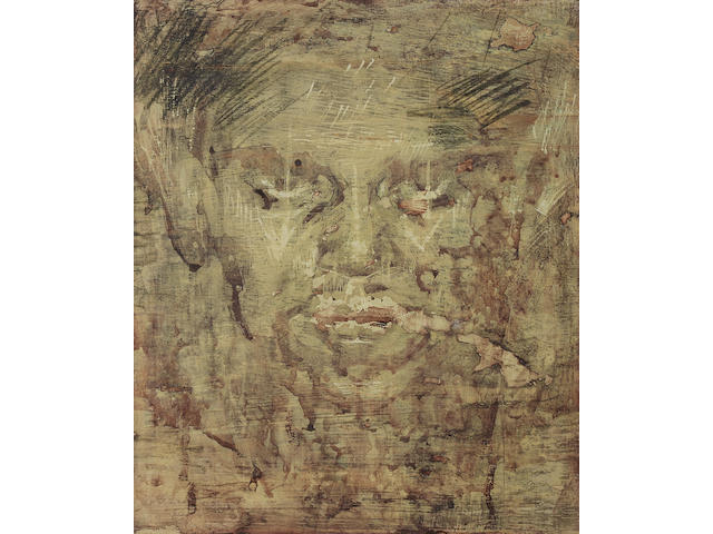 Austin Osman Spare (British, 1888-1956) 'Portrait of 'ZOS' (when young)'