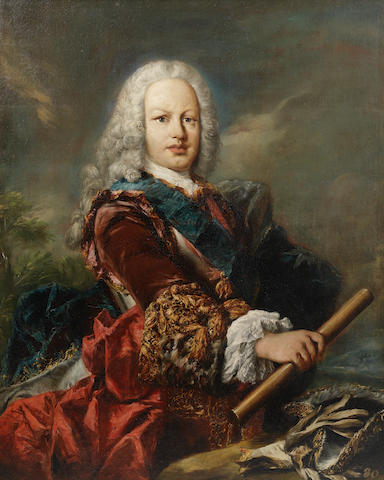 Giovanni Antonio Guardi (Vienna 1699-1760 Venice) Portrait of Ferdinand of Spain, as the Prince of Asturias, later King Ferdinand VI,