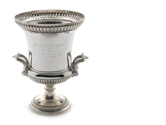 A George III silver two-handled cup, by Paul Storr, London 1815