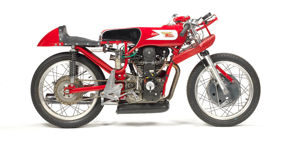 Moto Morini 250cc Bialbero Grand Prix Racing Motorcycle Frame no. B11 Engine no. B11