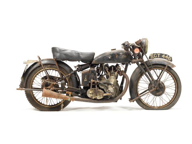 1938 Vincent-HRD 498cc Meteor