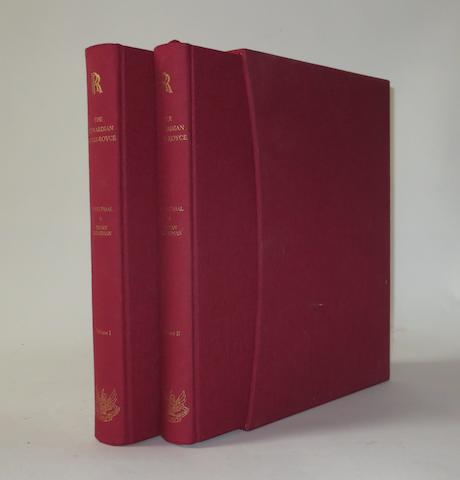 John Fasal & Bryan Goodman: The Edwardian Rolls-Royce, Volumes 1 & 2;