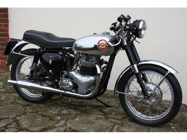 1963 BSA 646cc Rocket Gold Star 378 HWO,