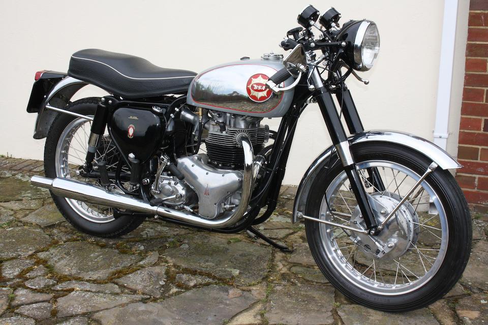 Property of a deceased's estate,1963 BSA 646cc Rocket Gold Star Frame no. GA10 1465 Engine no. DA10R 10145