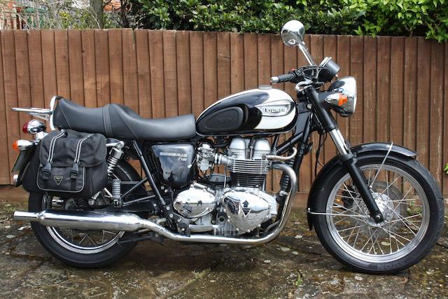 Property of a deceased's estate,2004 Triumph 790cc Bonneville T100 Frame no. SMTTJ912TM4193259 Engine no. 194106