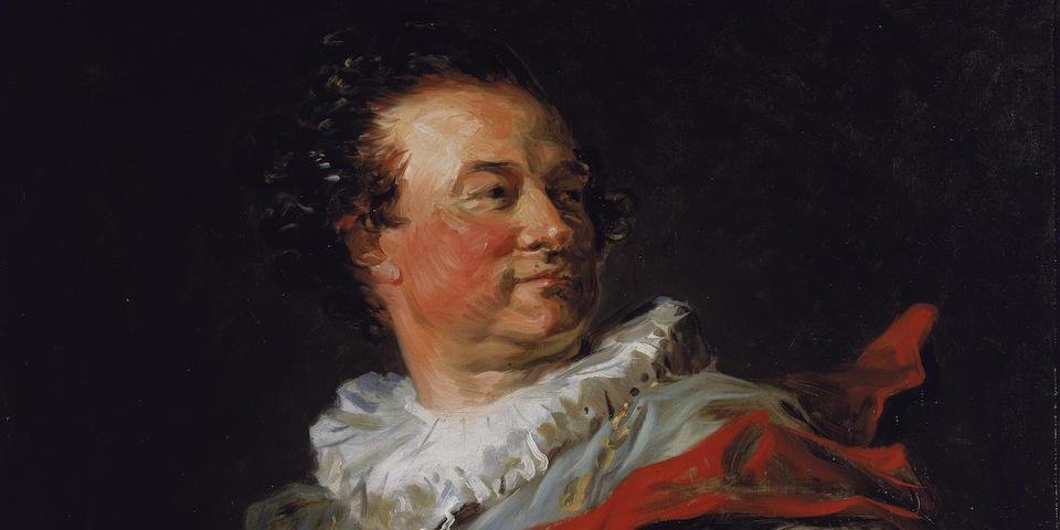 Jean-Honoré Fragonard, The Portrait of François-Henri d'Harcourt