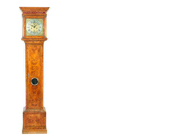A good early 18th century walnut longcase clock John Speakman, London