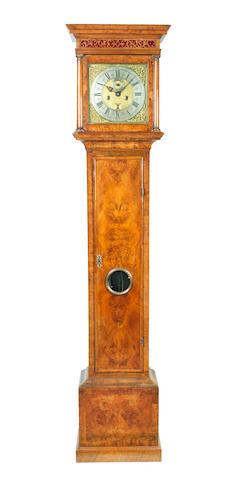 A good early 18th century walnut longcase clock John Speakman, London