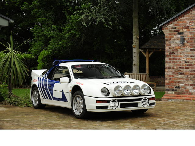 1989 Ford RS200 Coupé  Chassis no. SFACXXBJ2CGL00090 Engine no. GL00090