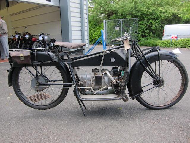 1921 ABC 398cc Frame no. 3160 Engine no. 3160