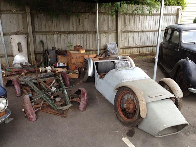 Austin 7 kit of parts,