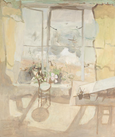 Mary Potter (British, 1900-1981) Seaside Window 71.3 x 61 cm. (28 x 24 in.)
