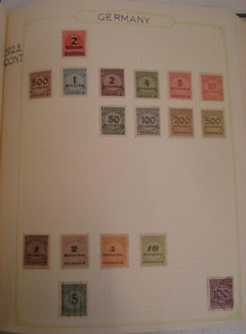 Stamps - German collection, mostly used in two green Simplex medium loose leaf albums, Die Sonderpostwertzeichen der Deutsch en Bunderspost, 1988 & 1990, further in a pocket book, Great Britain used collection in a loose leaf album and a stockbook, Swiss used collection in a Black Tower loose leaf album and a stockbook, ten further stockbooks including collections of Denmark, South Africa, Austria, Canada, Netherlands, China, Czechoslovakia, Serbia, Montenegro, Bosnia Herzegowina, both mint and used, together with a large quantity of loose stamps, others various on album pages and stock cards and 1st Day covers.