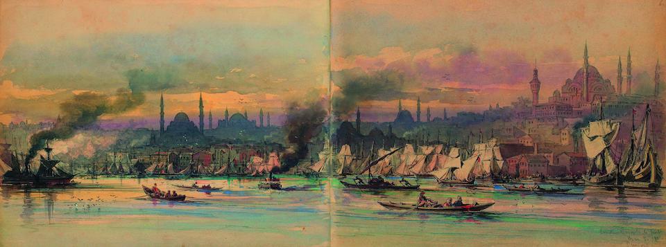 Vittorio Amadeo Preziosi (Maltese, 1816-1882), Aloysius Rosarius Amadeus Raymundus Andreas, 5th Count Preziosi The 1875 Souvenir Album (album size)