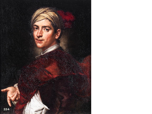 Vittore Giuseppe Ghislandi called Fra' Galgario (Italian, 1655-1743) Portrait of a young gentleman, half-length,