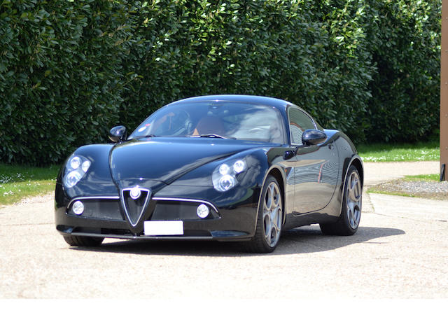 One owner from new,2009 Alfa Romeo 8C Competizione Coupé  Chassis no. ZAR92000000040895 Engine no. 1390