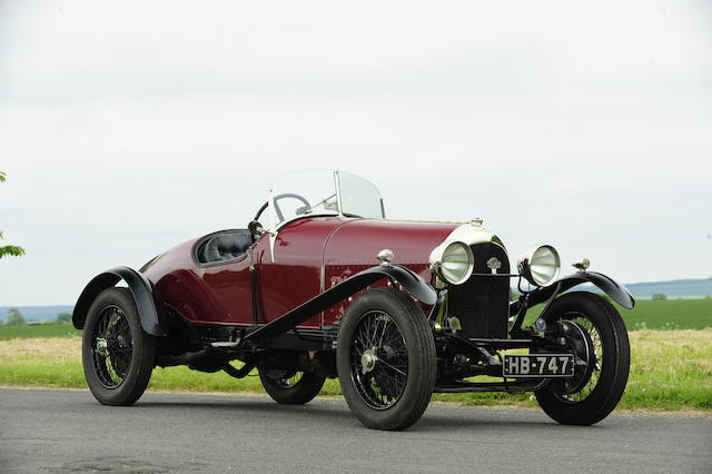 From the Estate of the late Michael Sydney ('Mike') Smith,1923 Bentley 3 litre TT Replica Two-seater  Chassis no. 296 Engine no. 298