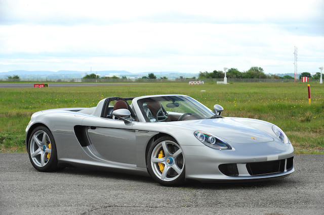 5,900 miles from new,2004 Porsche Carrera GT  Chassis no. WPOZZZ98Z4L000183 Engine no. 99430770