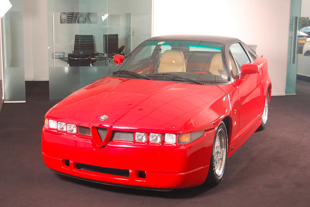291 miles from new,1990 Alfa Romeo SZ Coupé  Chassis no. ZAR16200003000348 Engine no. 1394230000383
