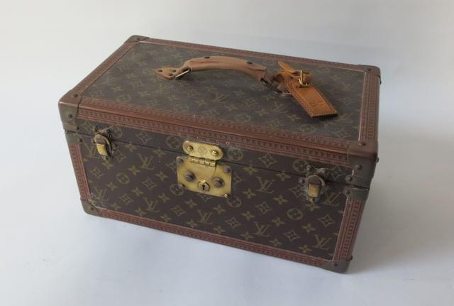 A Louis Vuitton vanity case,