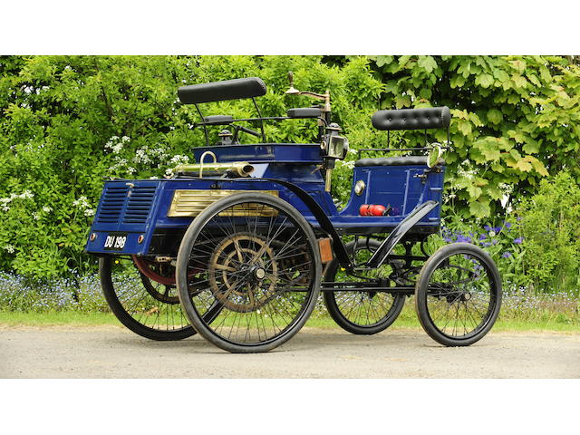 1899 Hurtu 3½hp Quadricycle  Chassis no. MO160