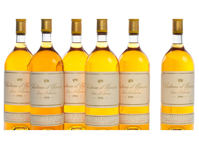 Chateau d'Yquem 1990 (6 mags)