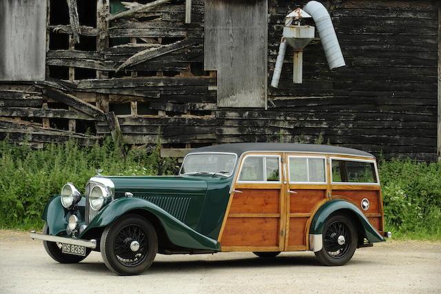 1935 Bentley 3½-Litre Shooting Brake  Chassis no. B80DG Engine no. R7BL