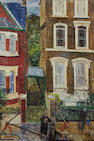 Carel Weight R.A. (British, 1908-1997) Figures in a Street