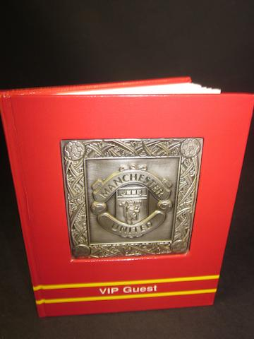 2002 Manchester United V.I.P. official autograph book