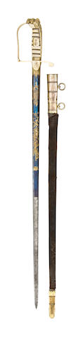 An Extremely Rare 1805 Pattern Naval Officer's Sword Presented By The Duke Of Clarence To Admiral William Carnegie, 7th Earl Of Northesk