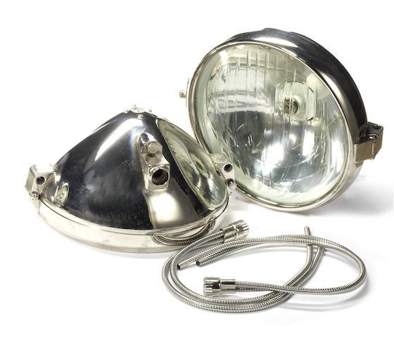 A fine pair of Zeiss headlamp replicas, modern,