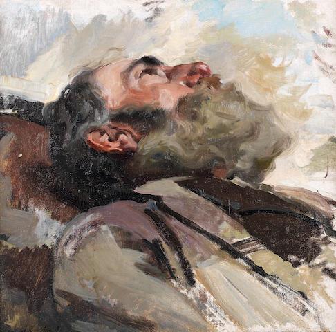 Joaquin Sorolla y Bastida (Spanish, 1863-1923) Cabeza de Viejo