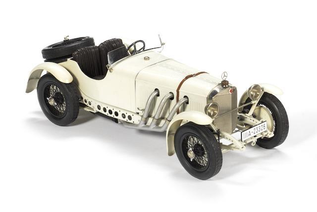A fine 1:12 scale model of a 1931 Mercedes-Benz SSKL, by Fulgurex,