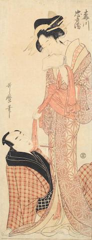 Kitagawa Utamaro (1753-1806), Chobunsai Eishi (1756-1829), Keisai Eisen (1790-1848) and others Late 18th to 19th century